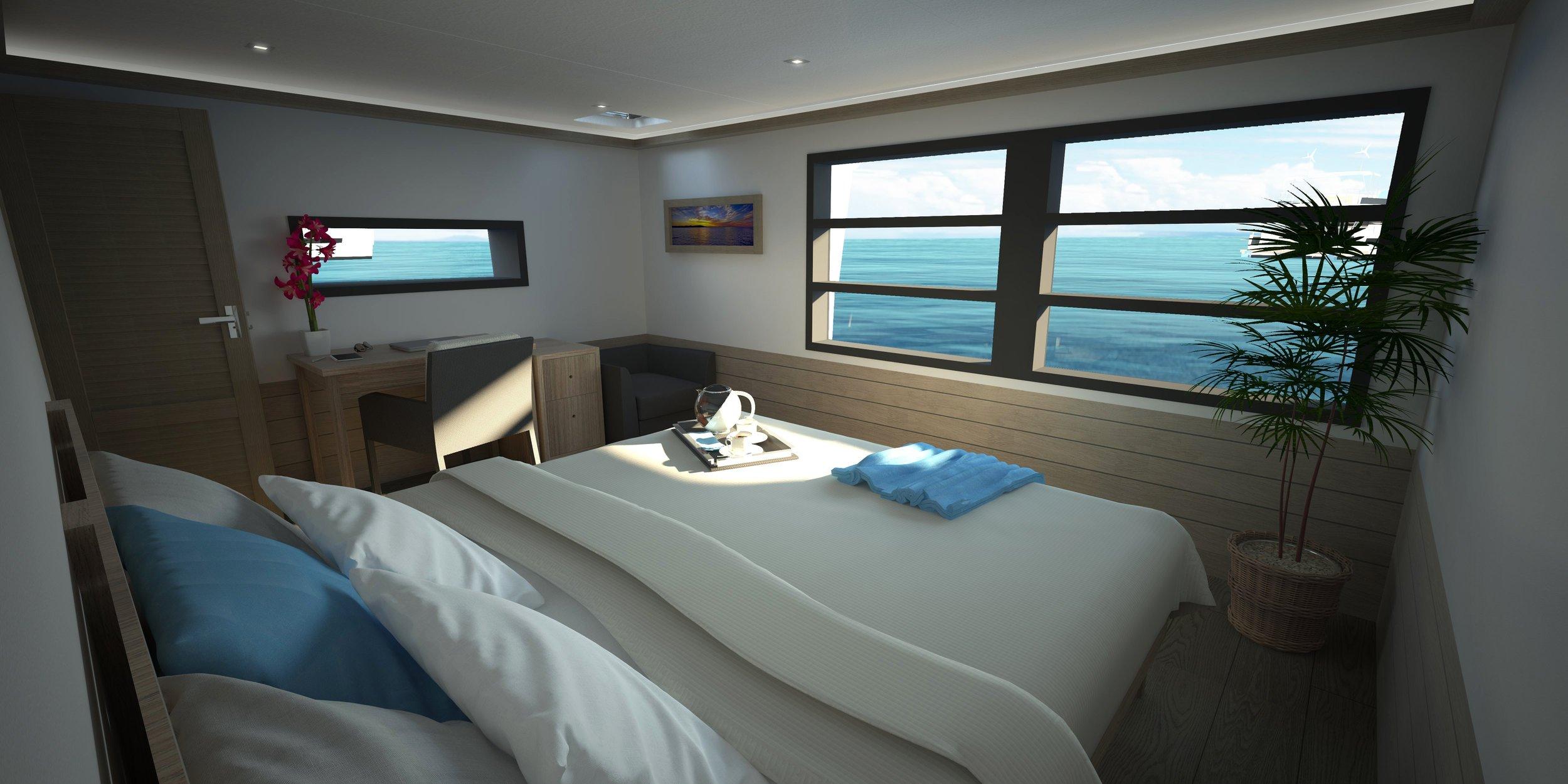 Master-bedroom - 12,6 m²