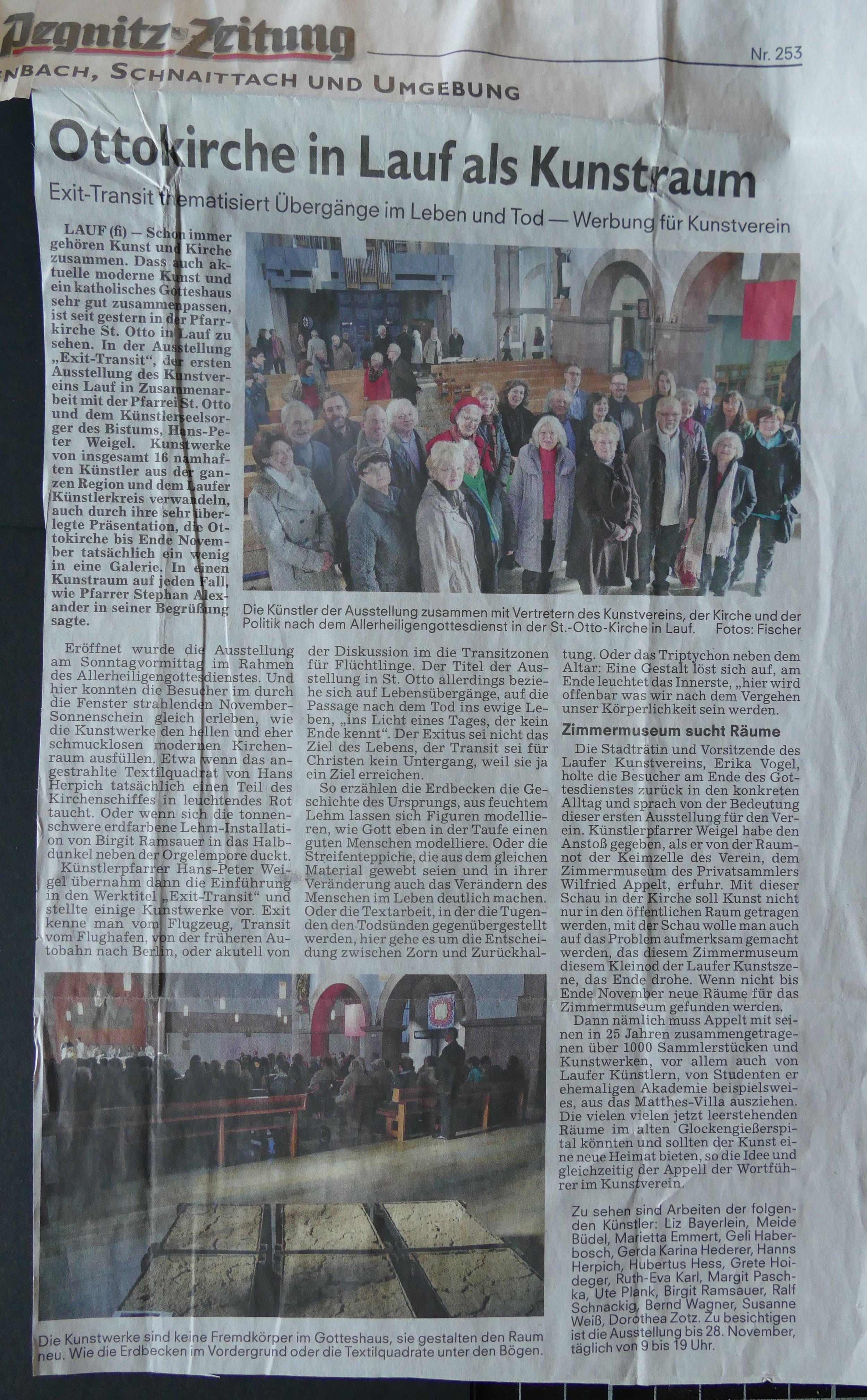 Bericht: Clemens Fischer, Pegnitz-Zeitung,Lauf
