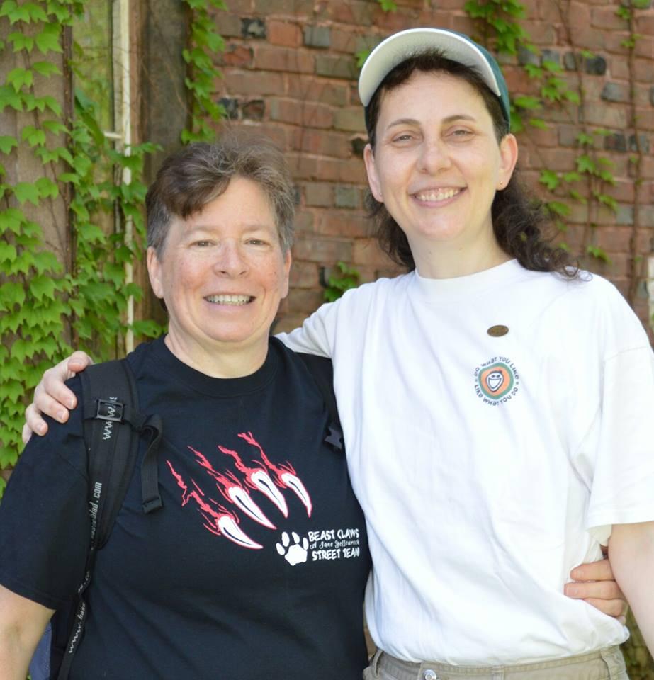 Judy Bienvenu and Melanie Otto