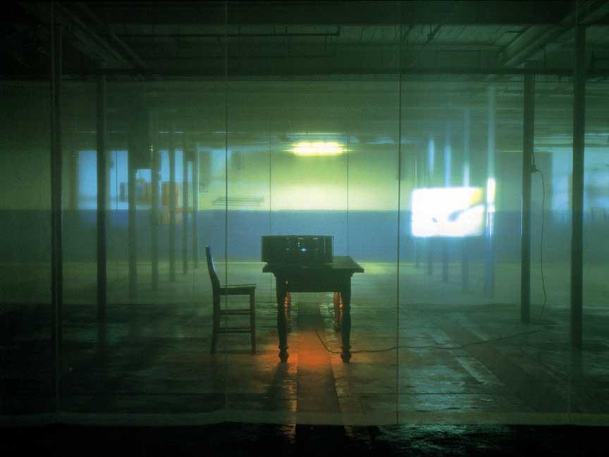 """ghost: a border act"" - Ann Hamilton"