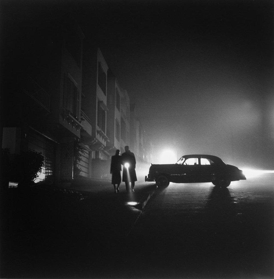 """Foggy Night at Land's End"", San Francisco (1953) - Photo by Fred Lyon.jpg"