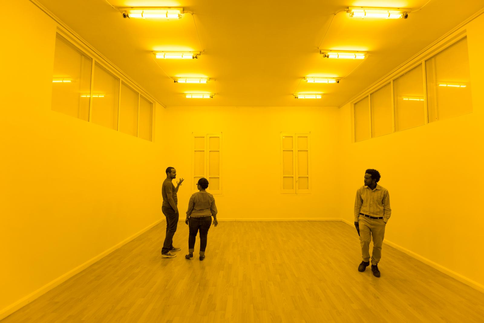Yellow Corridor, Elliasson.jpg