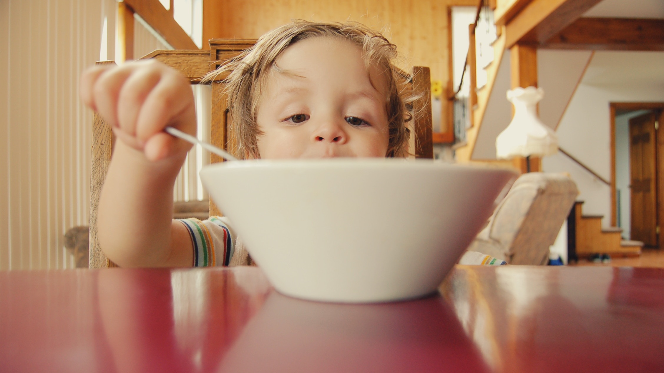 A taste here, a spoonful there, a little food from your kiddo's plate…it all adds up over the course of a day!