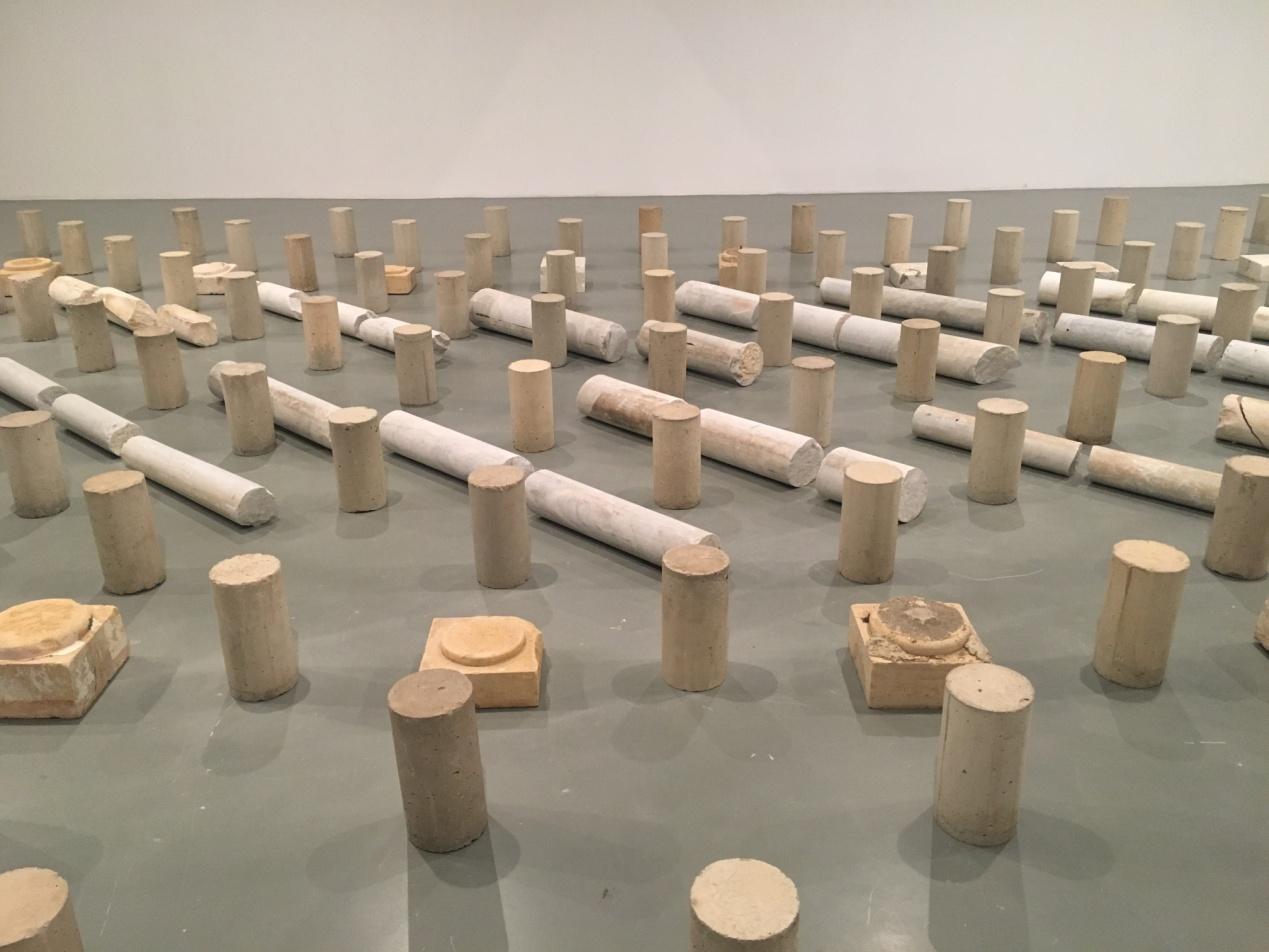 """Rayyane Tabet, """"Colosse Aux Pied D' Argile,"""" (2015)."""