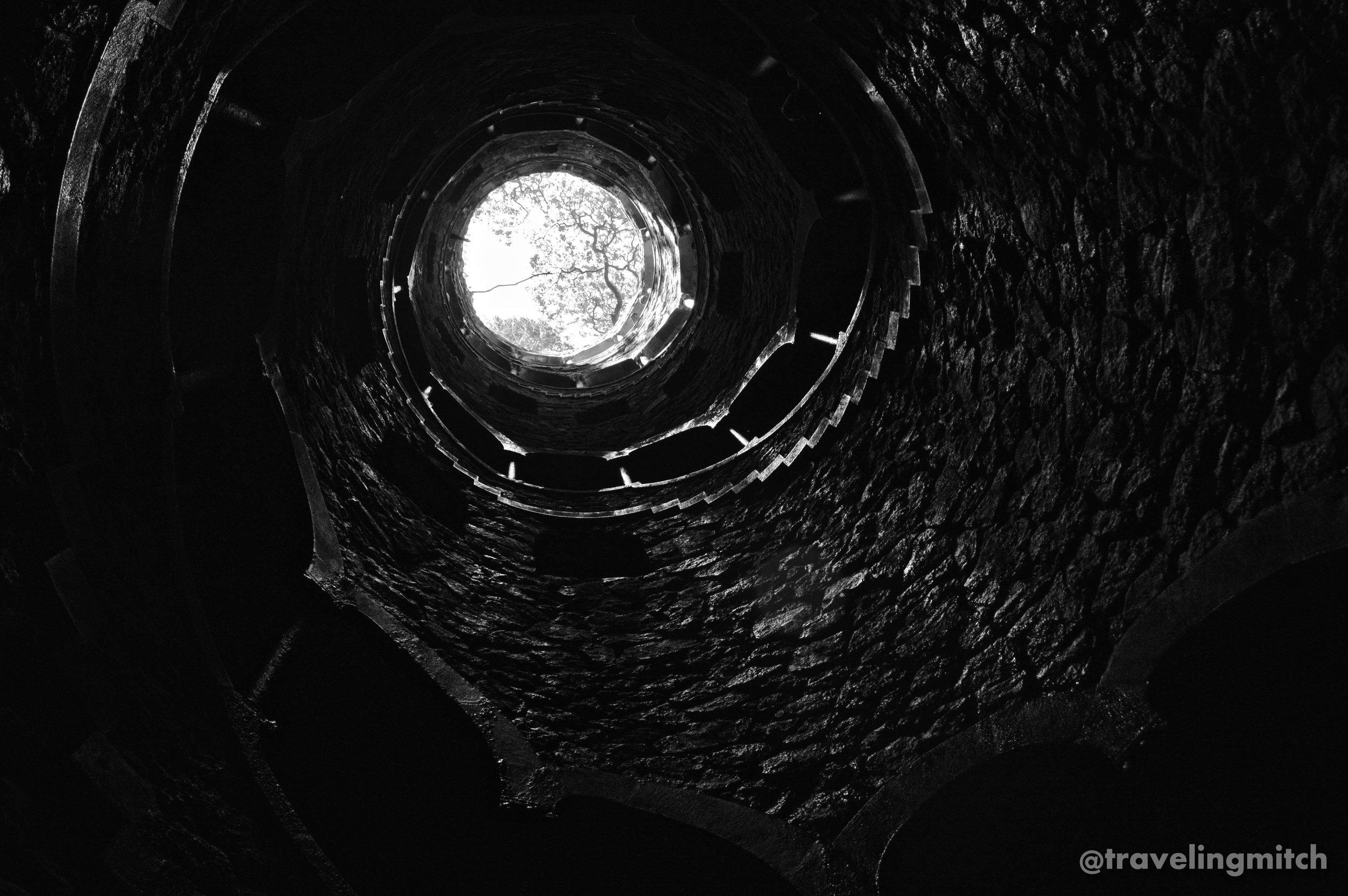The Initiation Well - Quinta da Regaleira