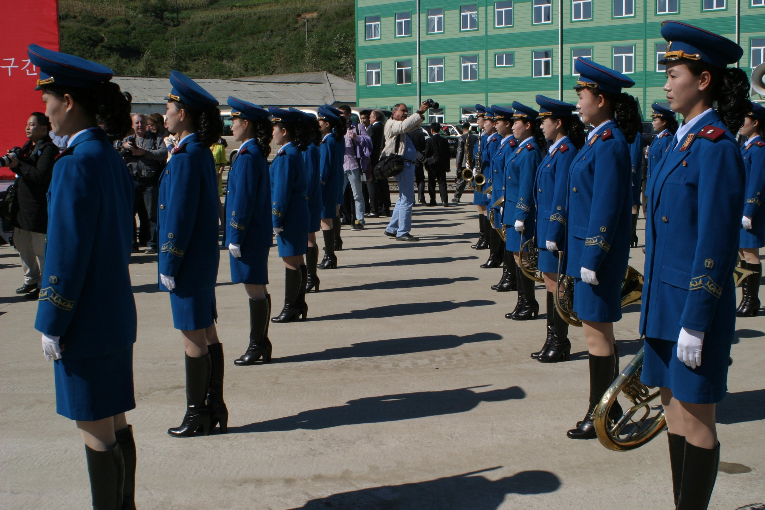 Parade in North Korea - DPRK
