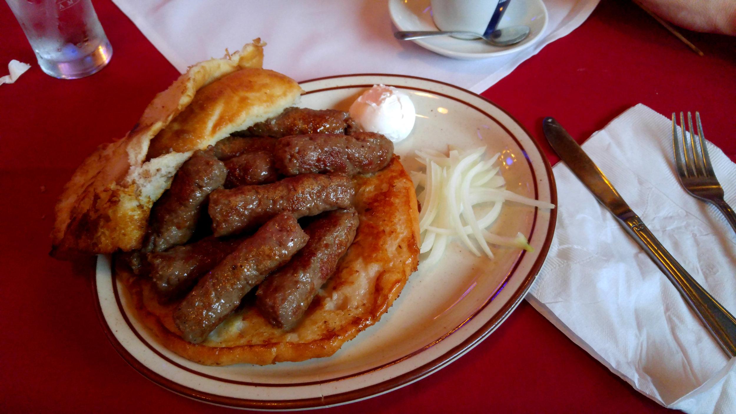 cevap or cevapcici from Bosnia and Herzegovina