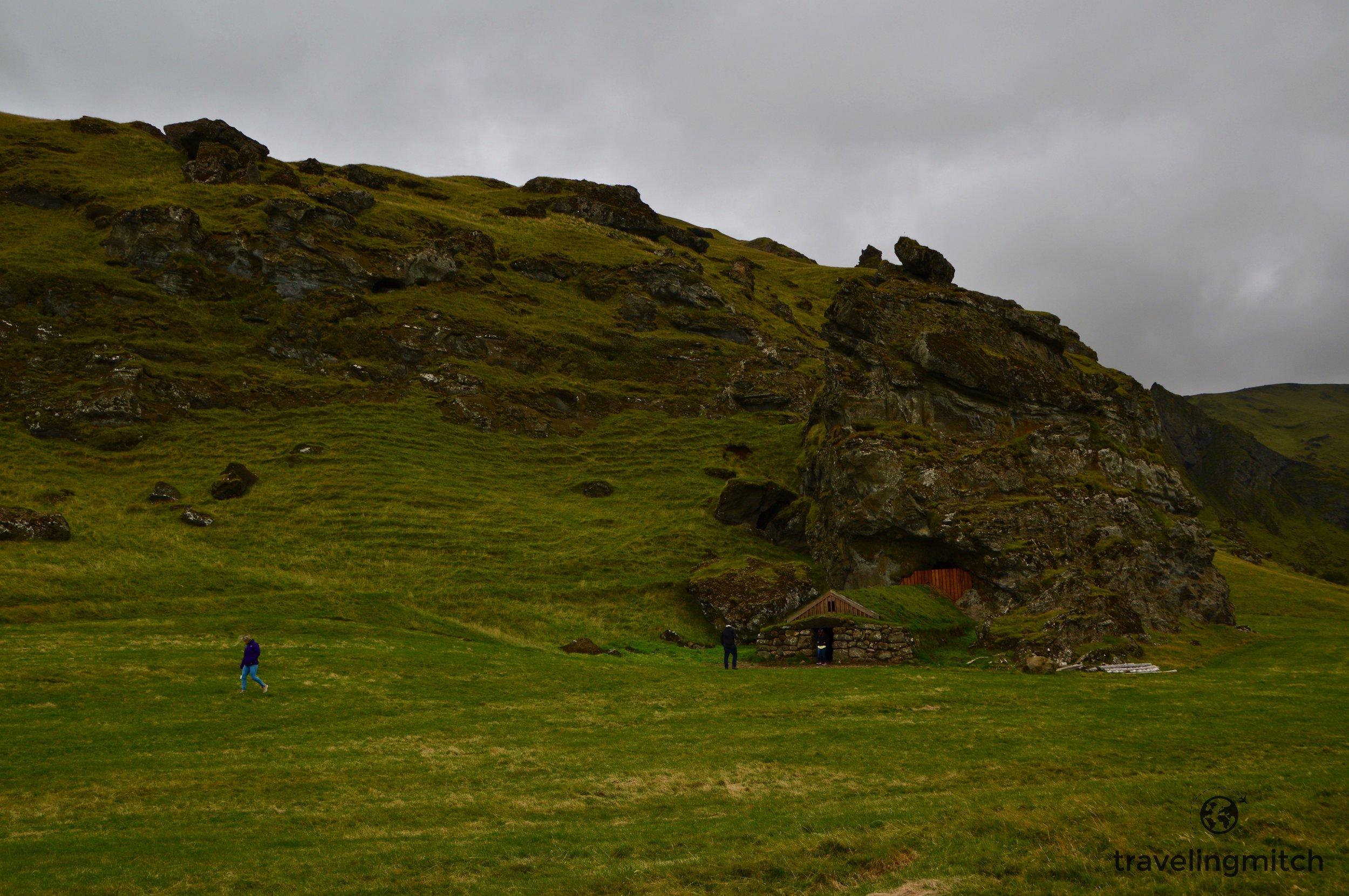 No way that's a human dwelling. No way. (near Seljalandsfoss)