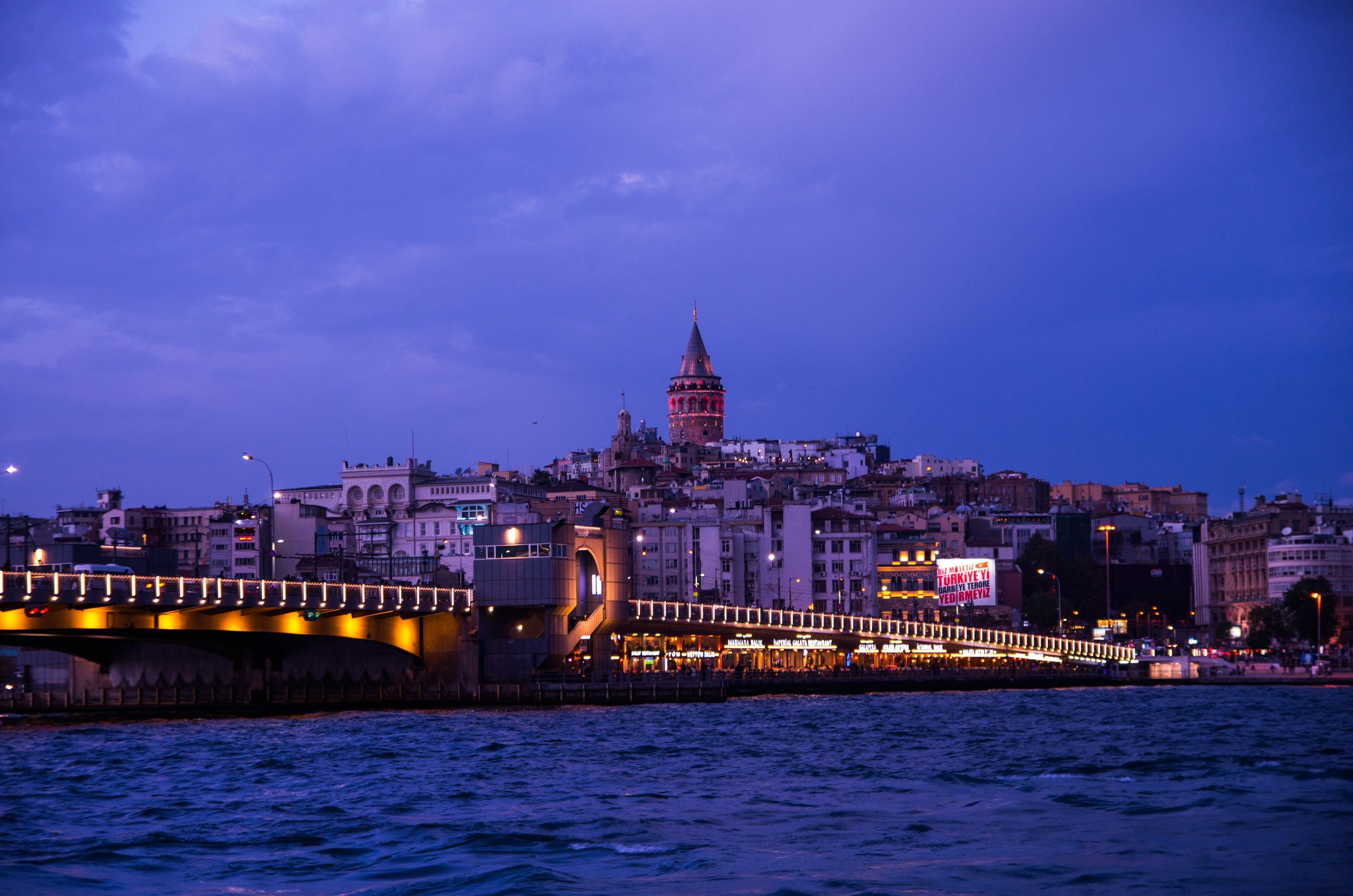 The 7 Turkish Phrases I'll Miss the Most - Looking towards Galata Tower