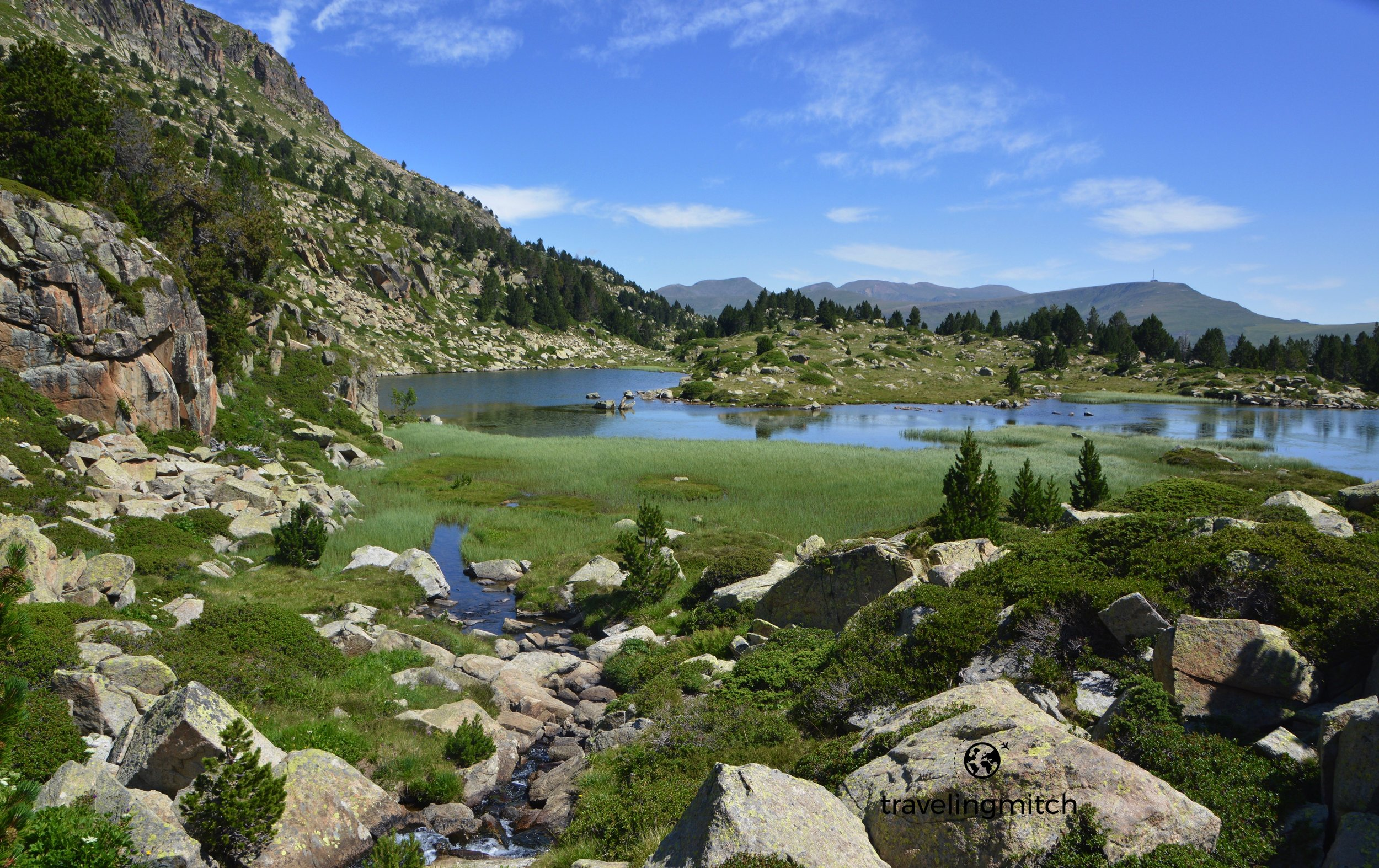 Hiking the Pessons Lakes or Llac de Pessons in Andorra
