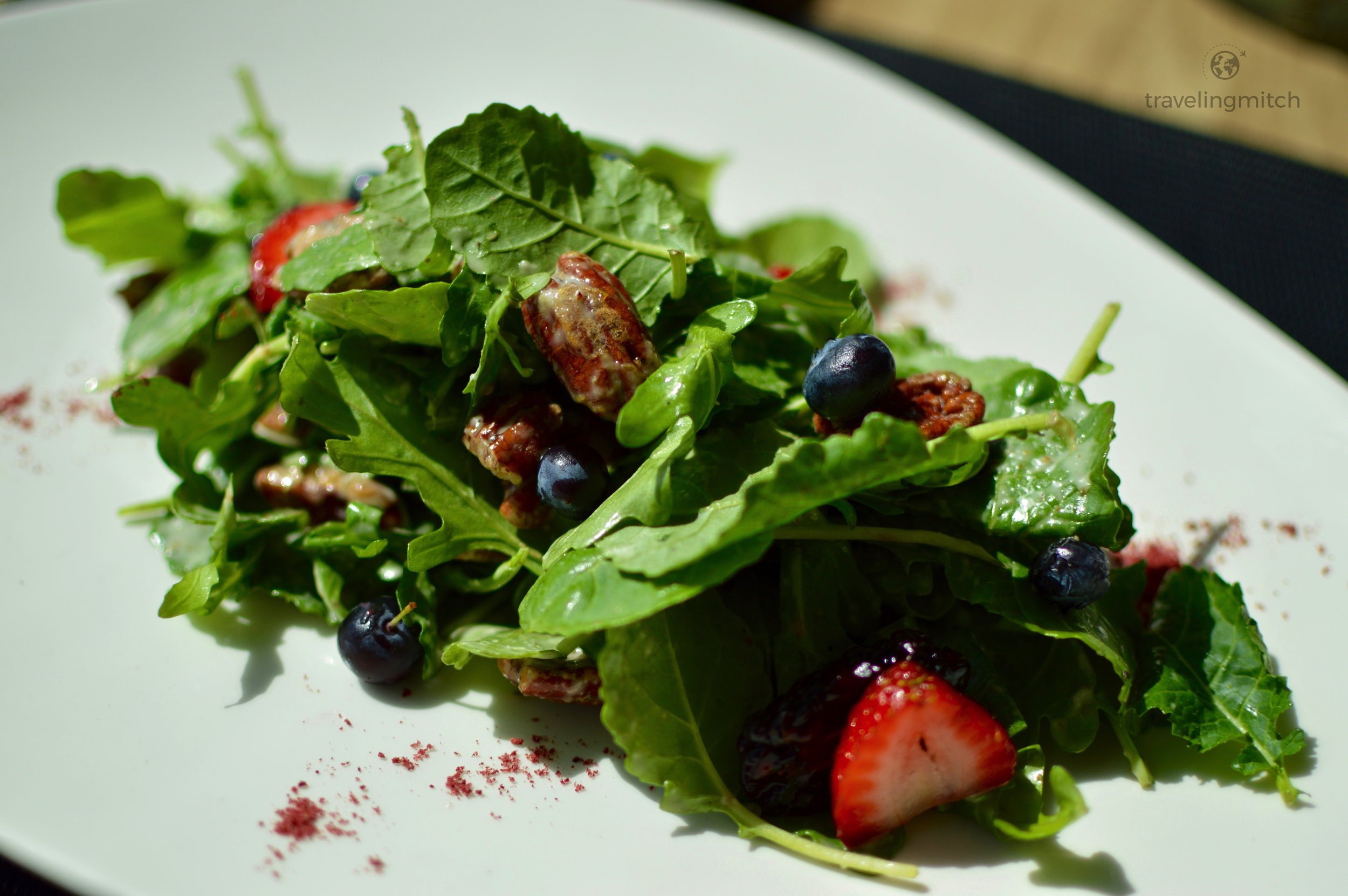 The DC Berry and Pecan Salad from Bistro '67