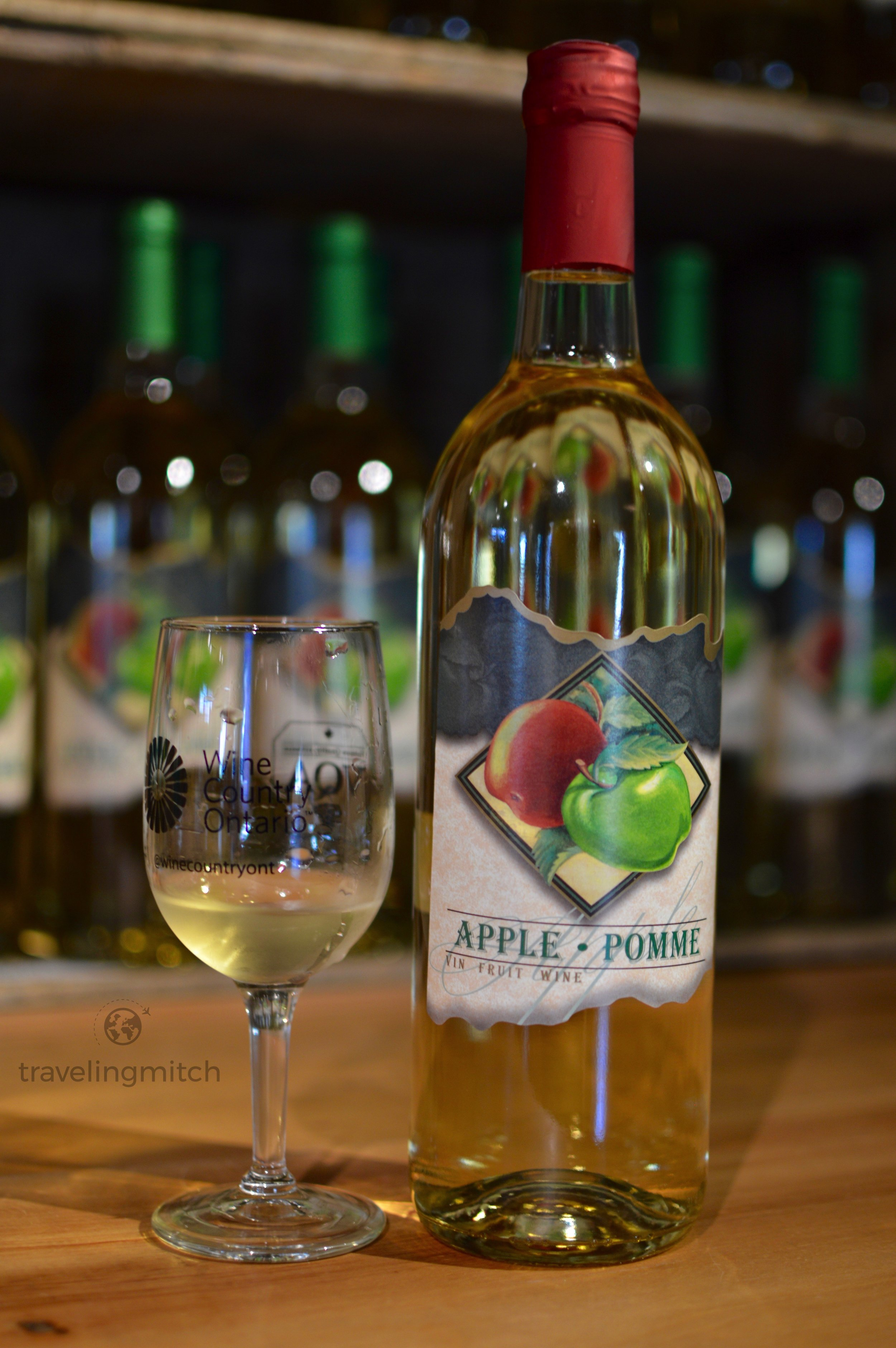 Ocala Farm Orchards Winery produces a mighty fine apple wine