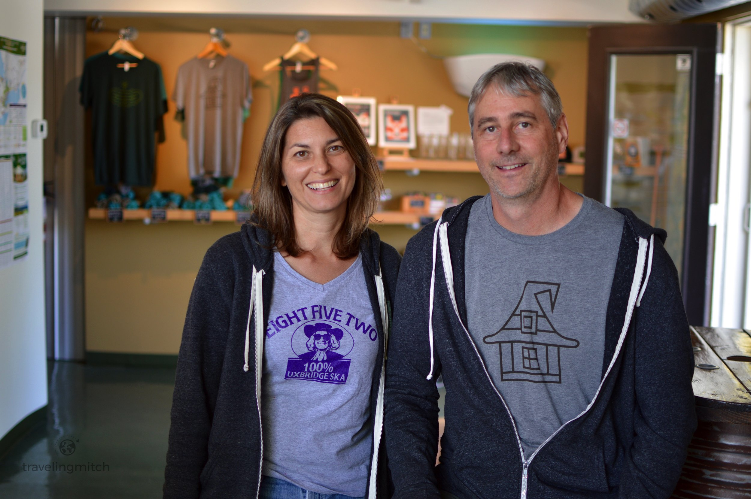 Rob Garrard and Joanne Richter are the owners of Second Wedge Brewing Company in Uxbridge, Ontario