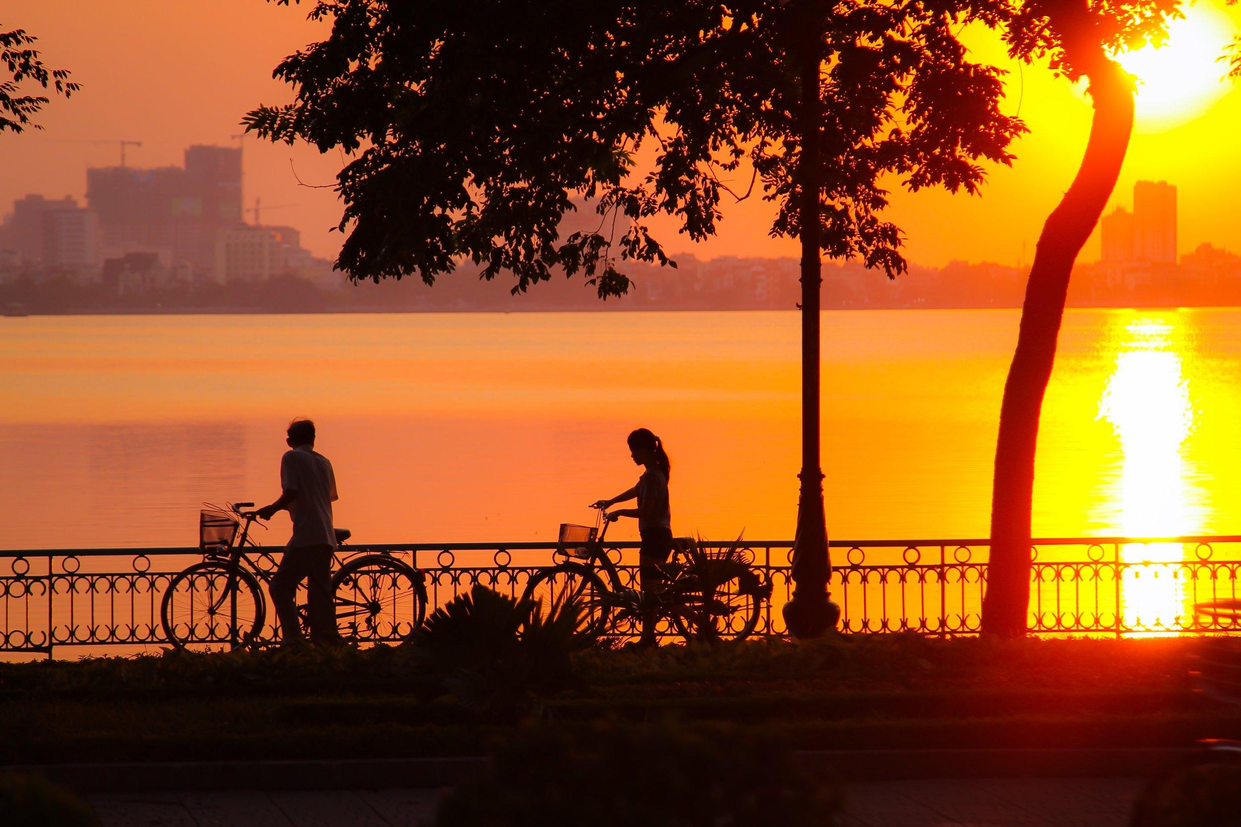 3 Weeks in Vietnam - Lakes in Hanoi, Vietnam