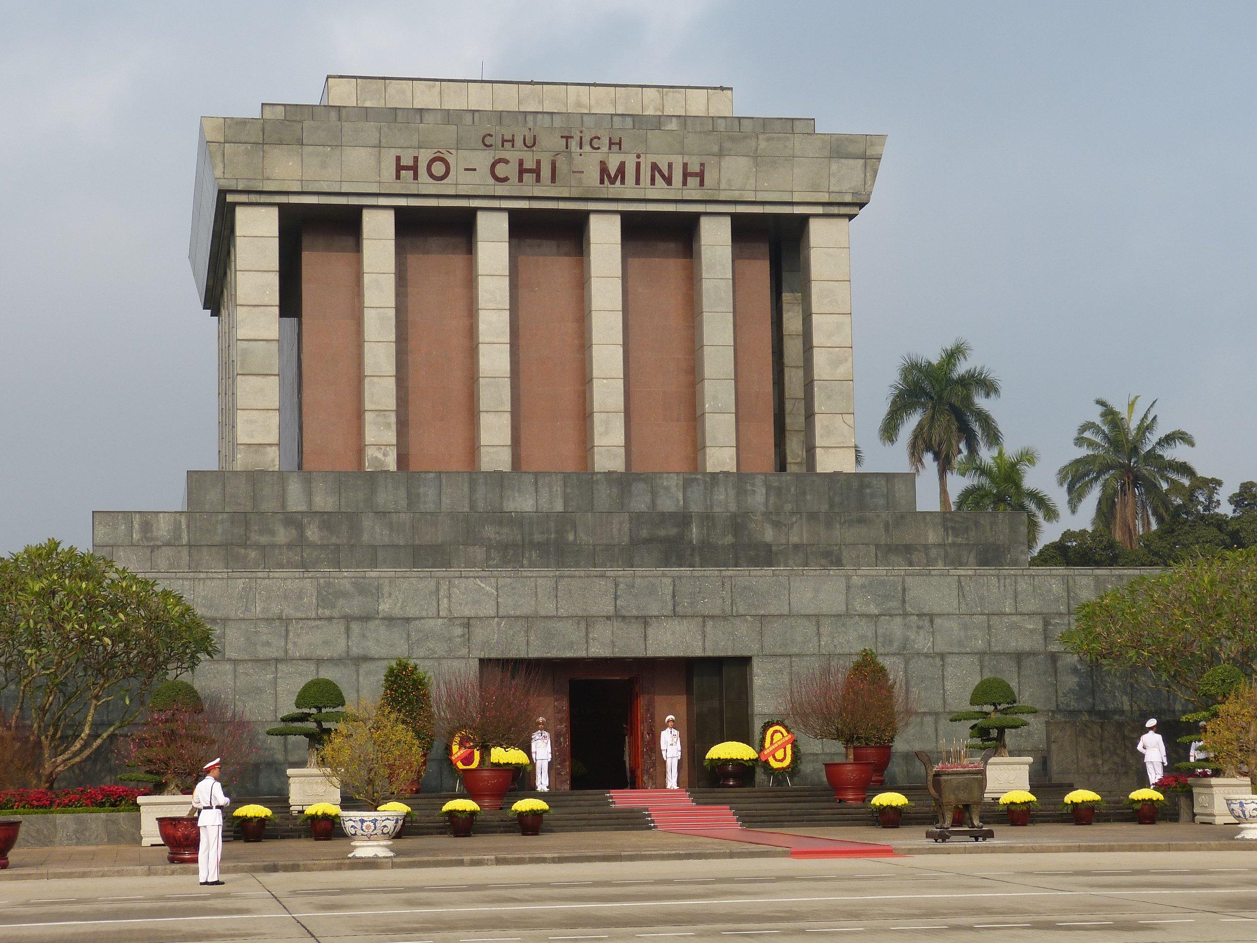 3 Weeks in Vietnam - the Ho Chi Minh Mausoleum in Hanoi, Vietnam