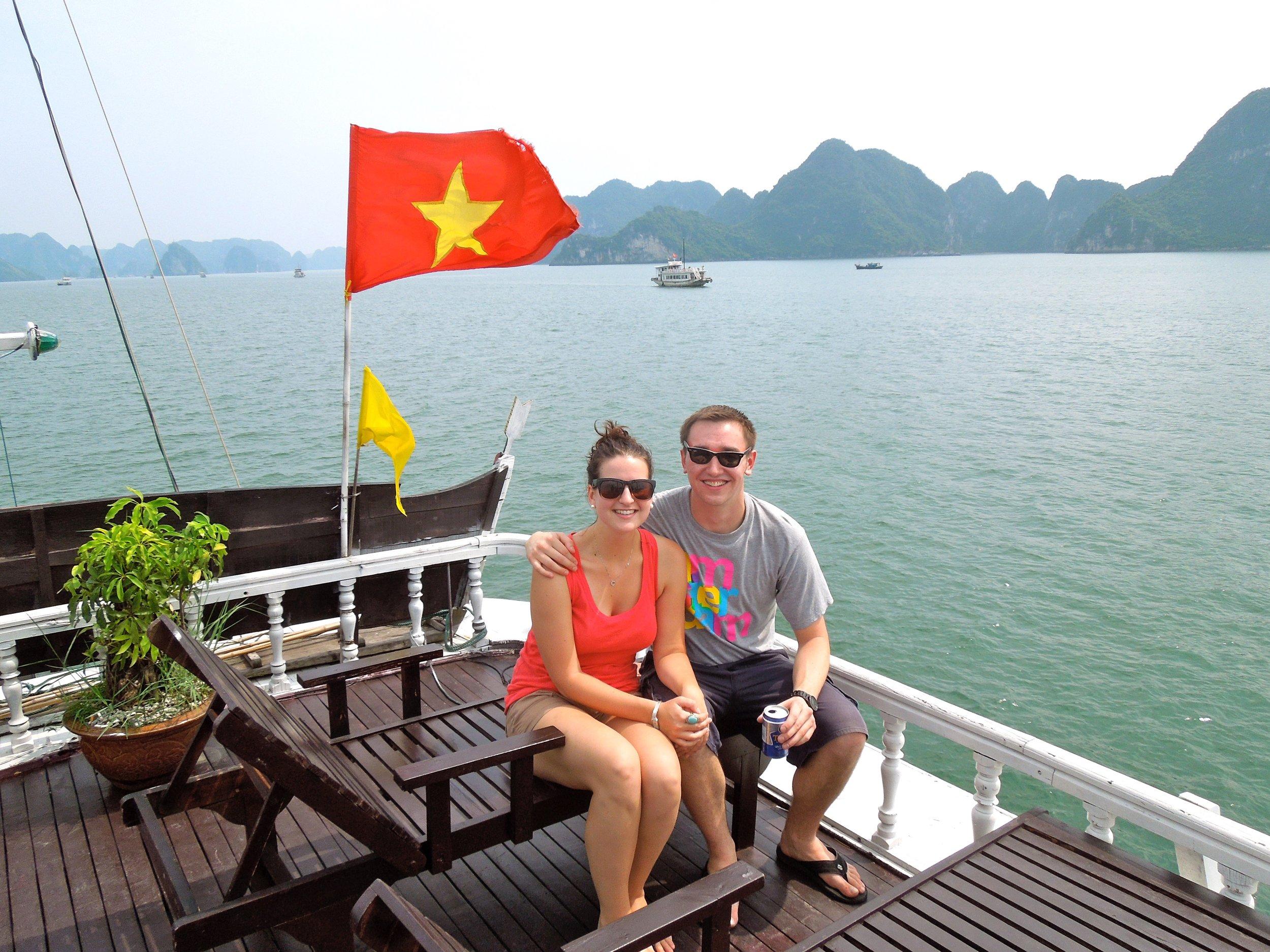 3 Weeks in Vietnam - Ha Long Bay!