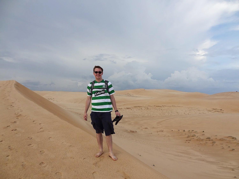 3 Weeks in Vietnam - The White Sand Dunes in Mui Ne