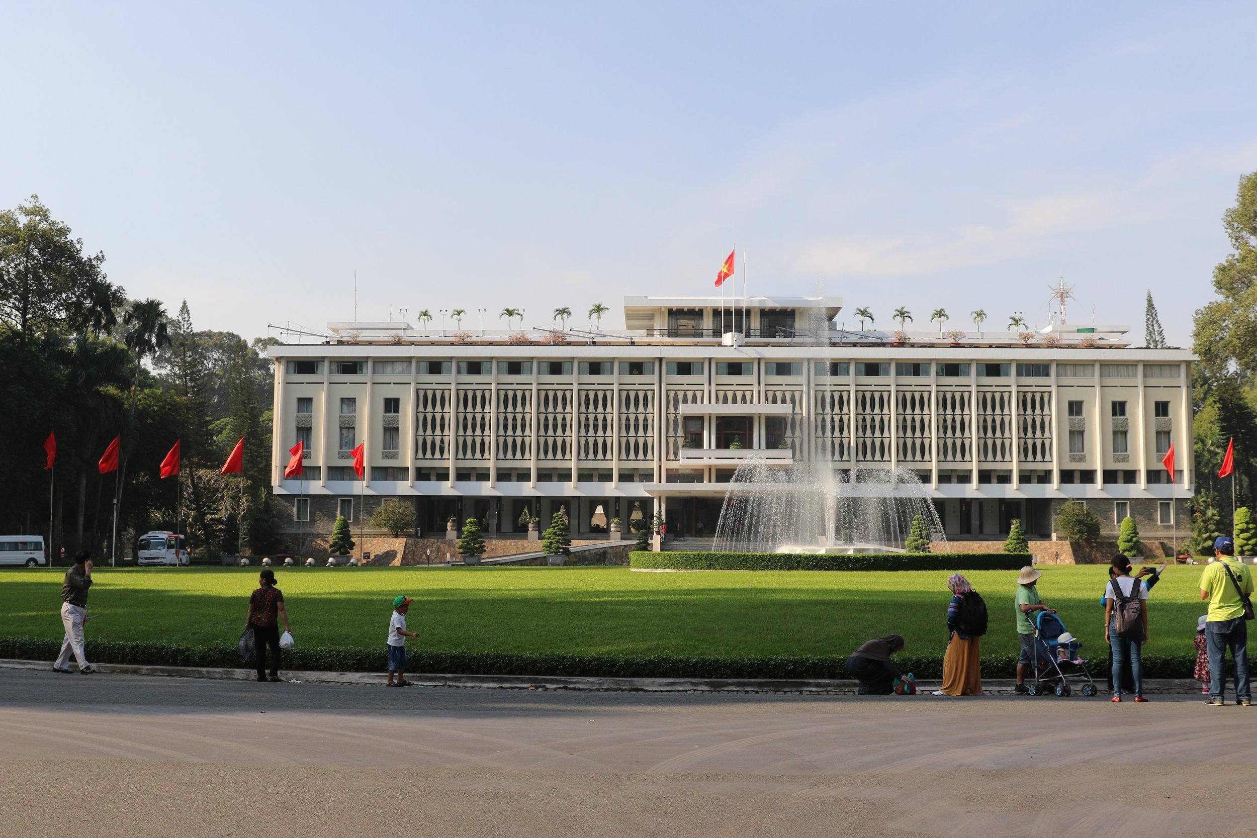 3 Weeks in Vietnam - The Reunification Palace in Saigon/Ho Chi Minh City
