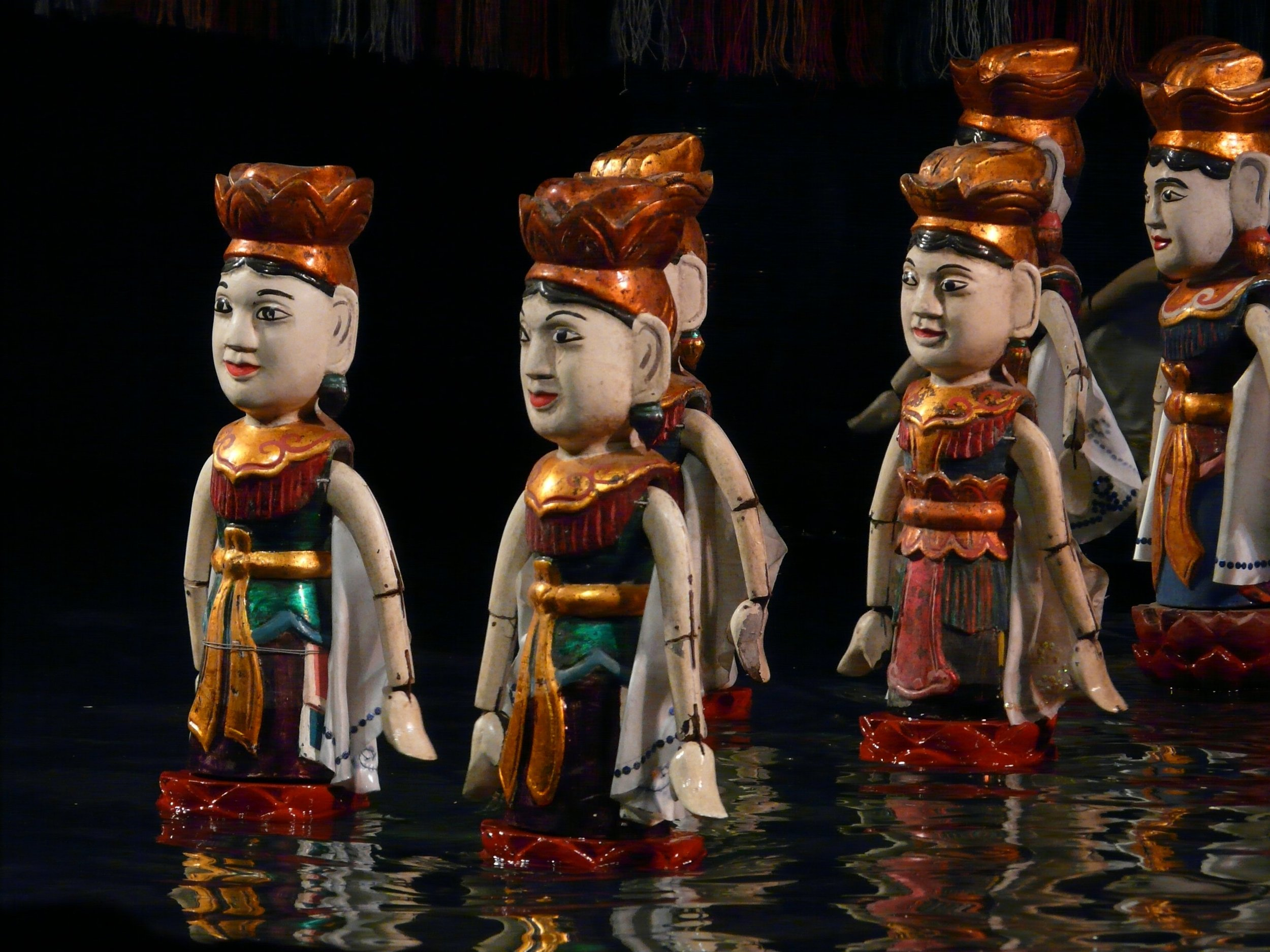 Vietnam in 3 Weeks - Water Puppet Shows in Saigon/Ho Chi Minh City