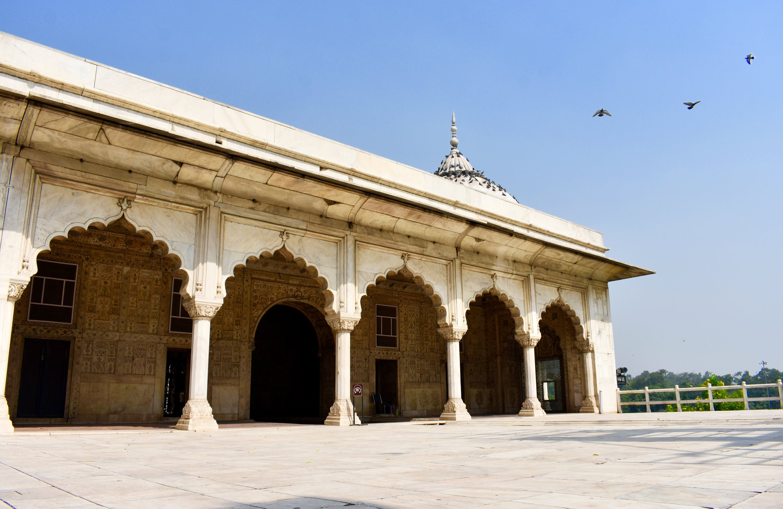 A Day in Delhi - Khas Mahal, Red Fort