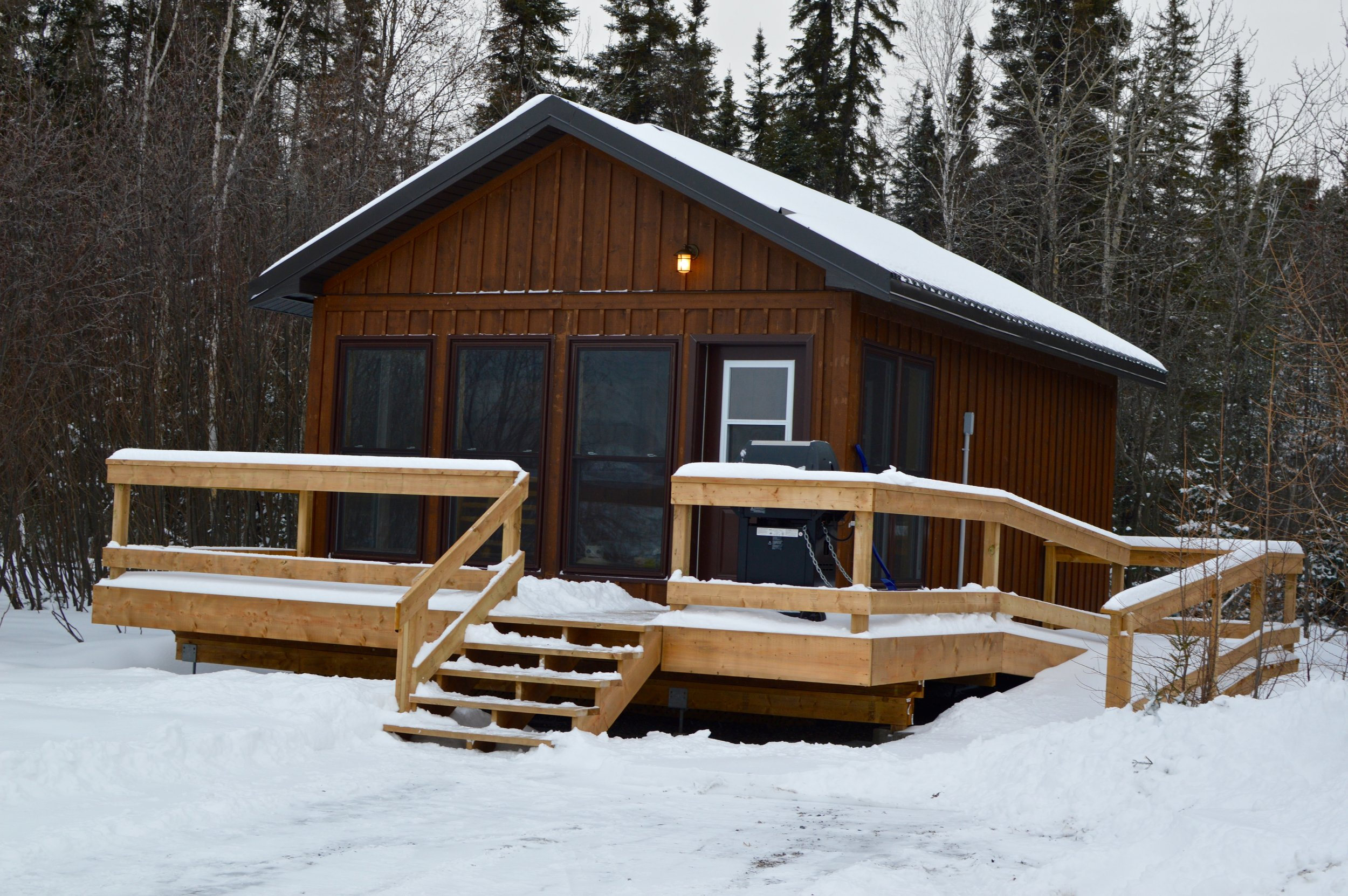 Whether it's a cabin or a winter yurt, Ontario camping reservations aren't hard to make!