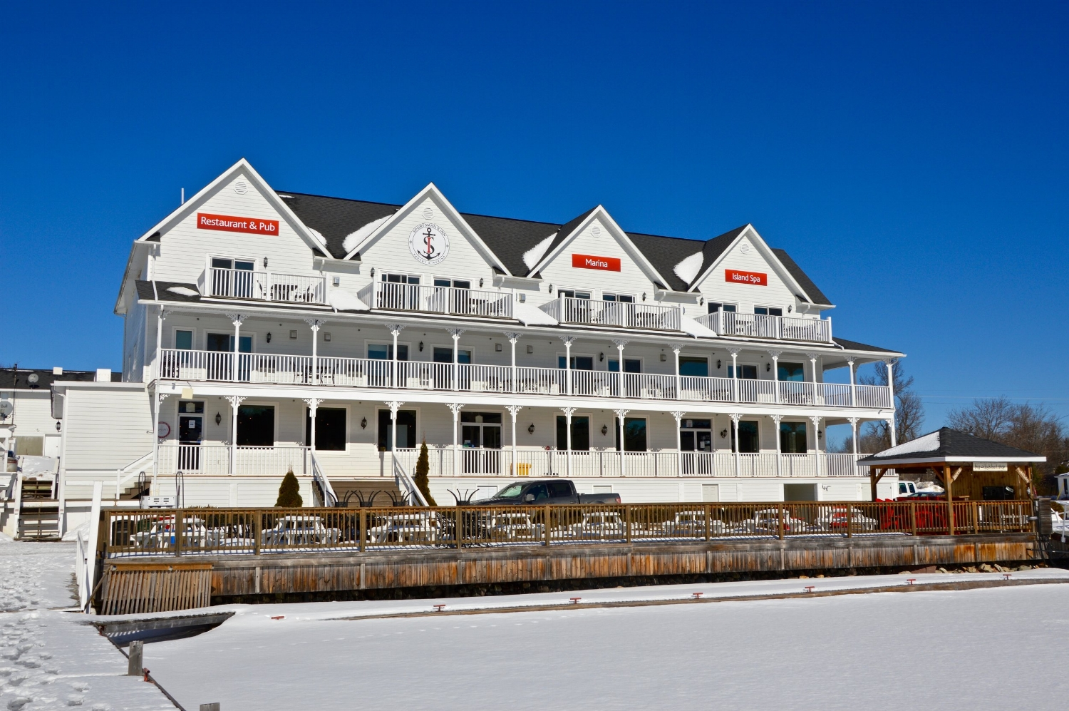 The Sportsman's Inn in Killarney, Ontario is a top choice when thinking about Killarney, Ontario hotels.