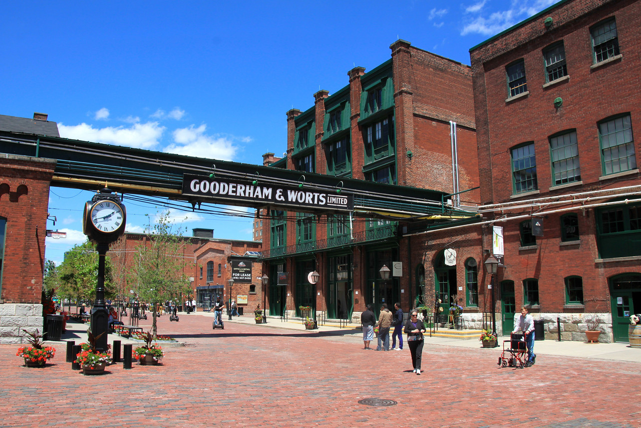 36 Hours in Toronto - Distillery District