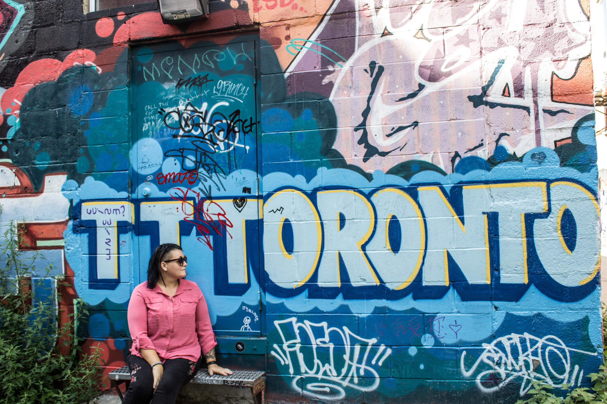 36 Hours in Toronto - Graffiti Alley