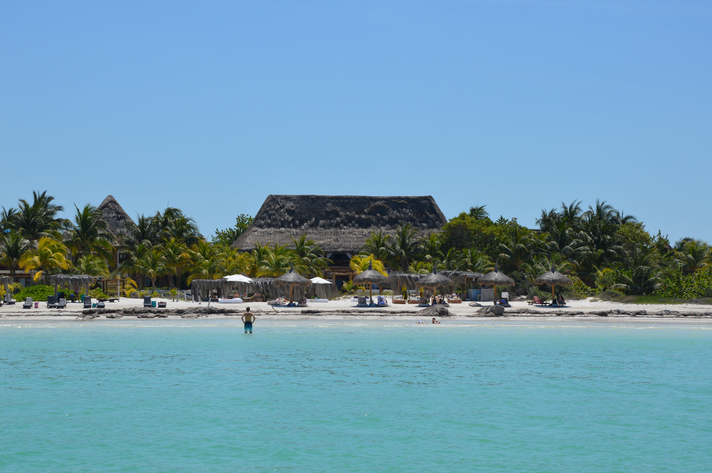 Paraside at the Casa Sandra Holbox on Isla Holbox