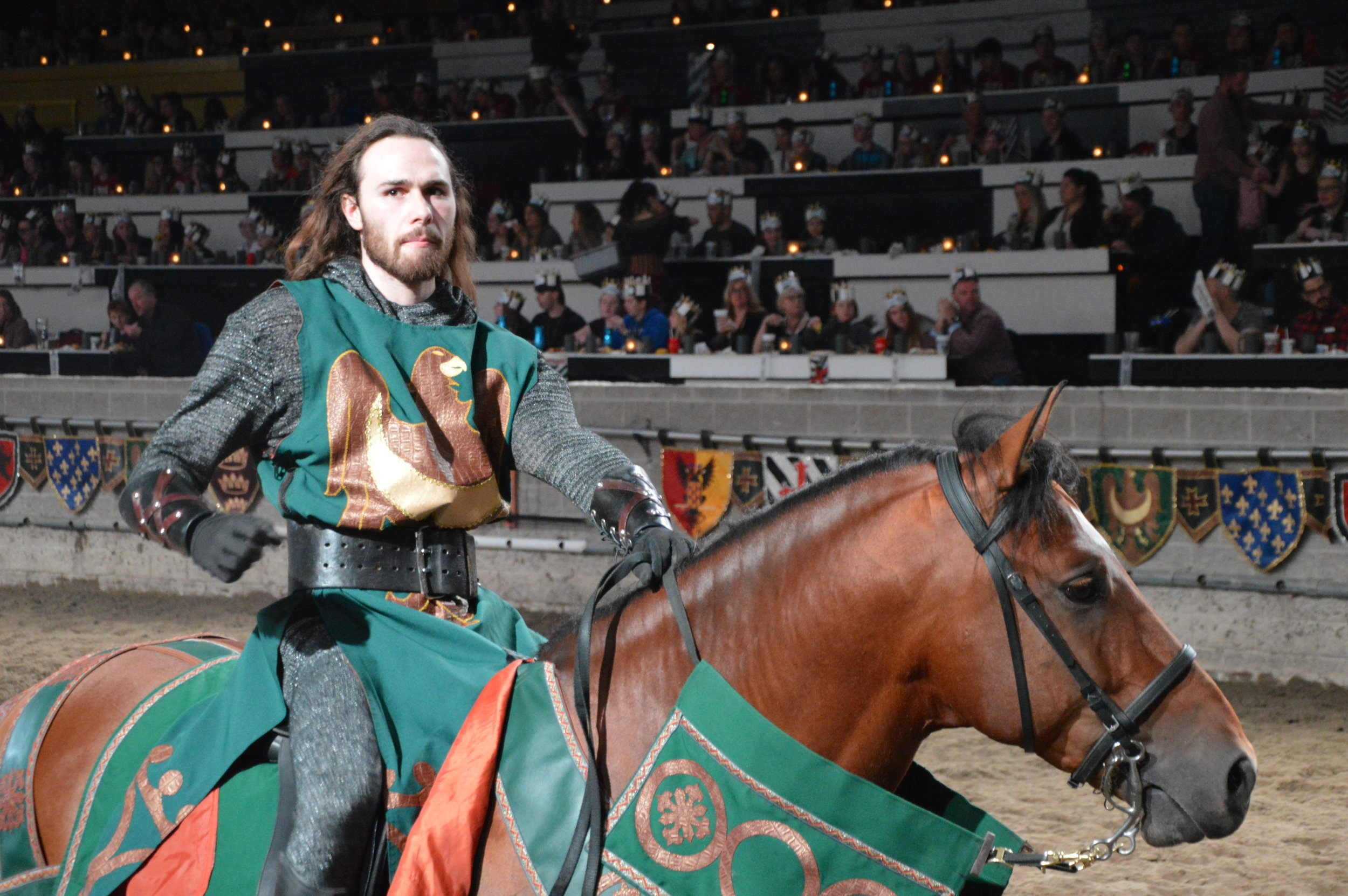 Medieval Times Toronto is the headquarters of family fun