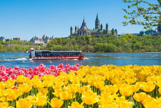 Ottawa is truly a beautiful city. ©Neil Robertson
