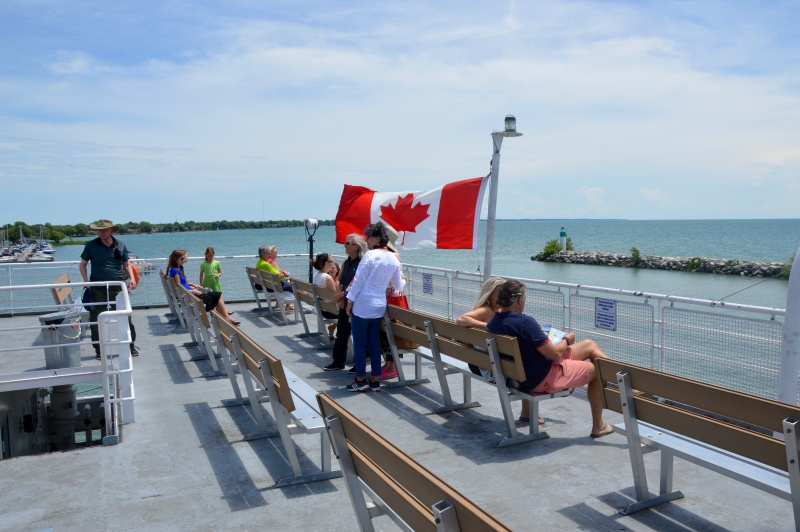 The Pelee Island Ferry - Pelee Island, Ontario