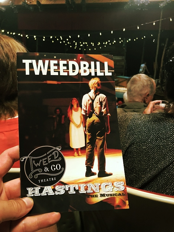 """Tweed and Company's """"Hastings the Musical"""" was something unique and exciting"""