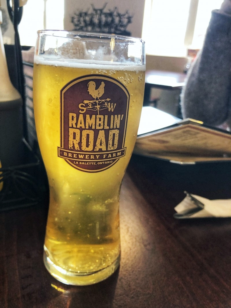 Ramblin Road Brewery Farm in Ontario is worth the stop