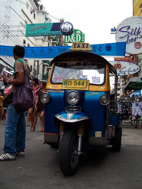 OUKhao San Road, Bangkok, Thailand