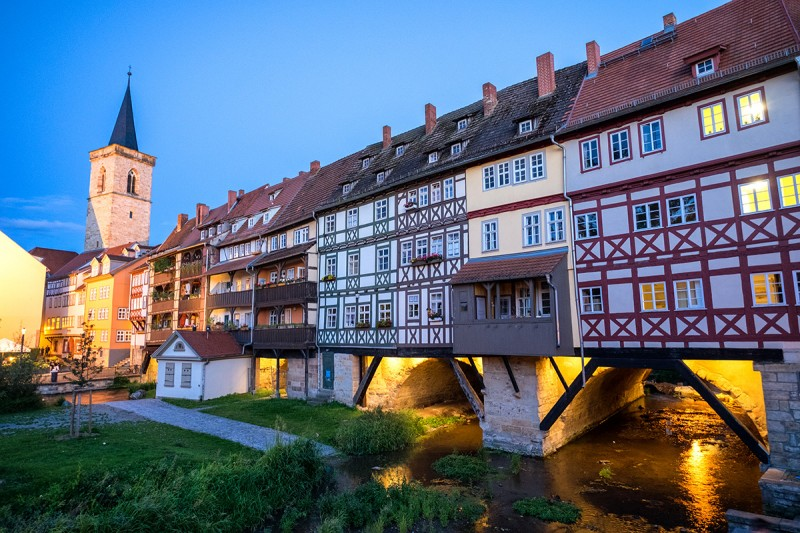 You have to consider Erfurt as one of the places to go in Germany in your Germany itinerary