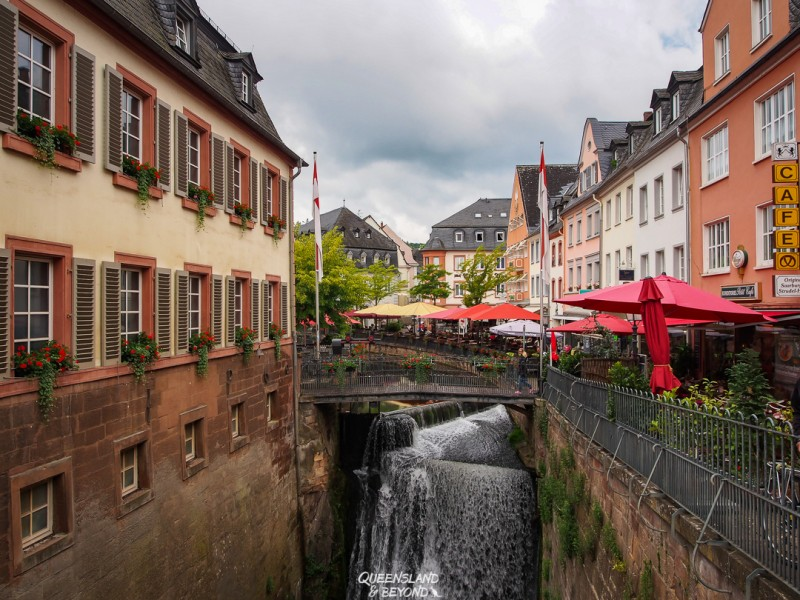 Saarburg is where to go in Germany. Add that to your Germany Itinerary