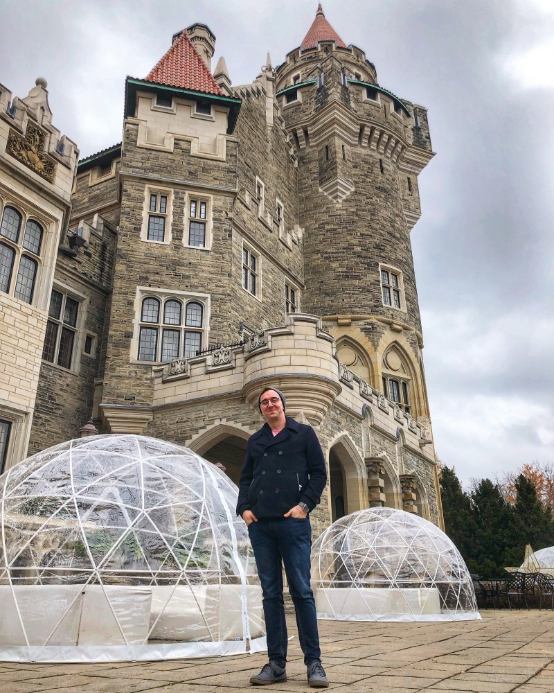 The Casa Loma Nutcracker Christmas is one of the top things to do in the winter in Toronto