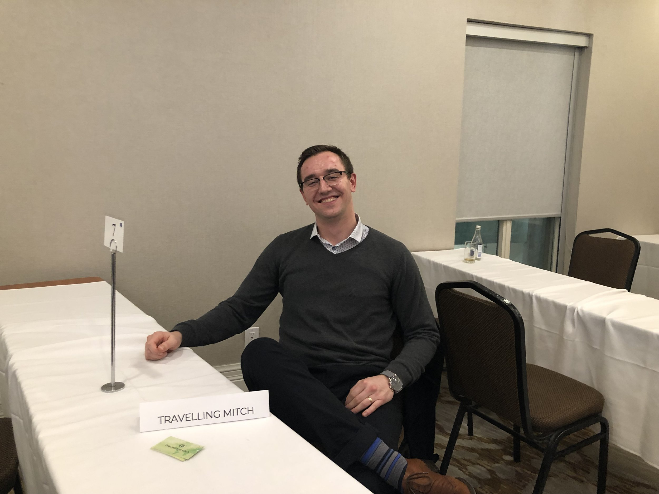 I was one of 15 young travel professionals selected to be a booth for Humber College students on the 3rd Annual Young Travel Professionals Speed Networking Session. I spoke with innumerable students with what it takes to make it in the industry.