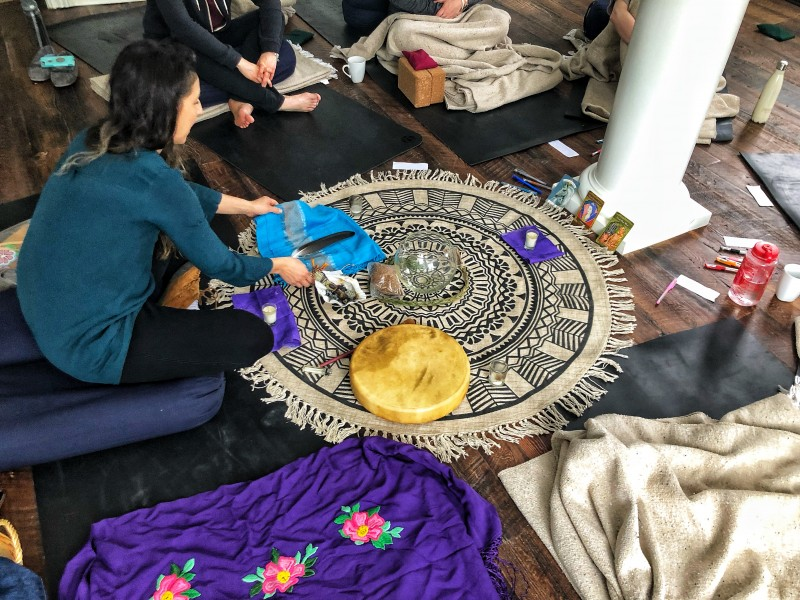What perhaps makes KaBa Kamp the best yoga retreat in Ontario is the presence of the Shamanic Healing in Ontario.