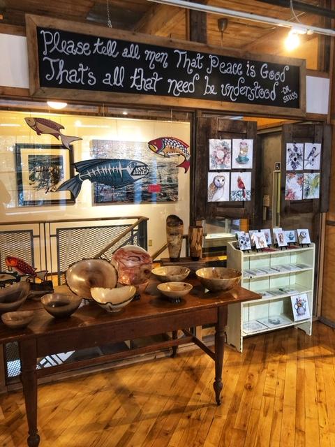 The Alton Mill Arts Centre near Alton, Ontario is worth the stop