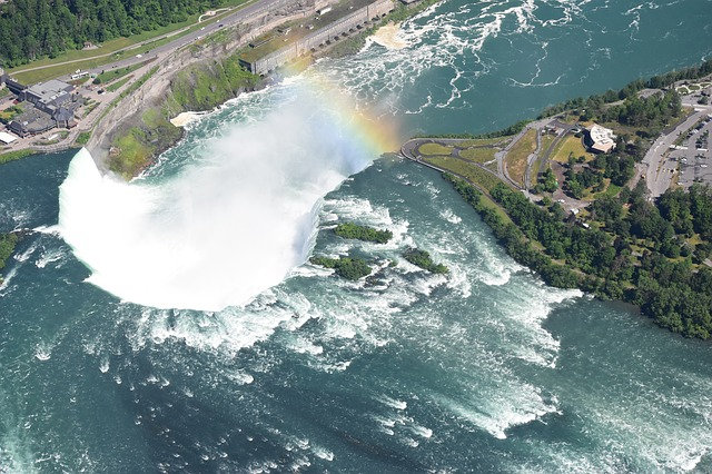 A helicopter ride over Niagara Falls is one of the best ways to see Niagara Falls
