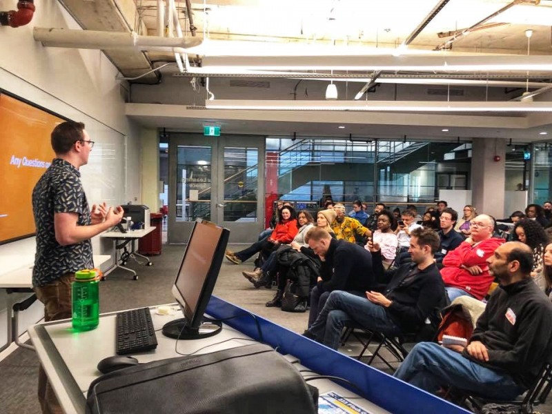 "I was a speaker at  PodCamp Toronto  and led a 1.5 hour seminar on  ""How to Use Social Media to Promote Your Podcast and Build a Brand."""