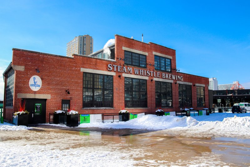 Steam Whistle Brewing is one of the best known Toronto breweries.