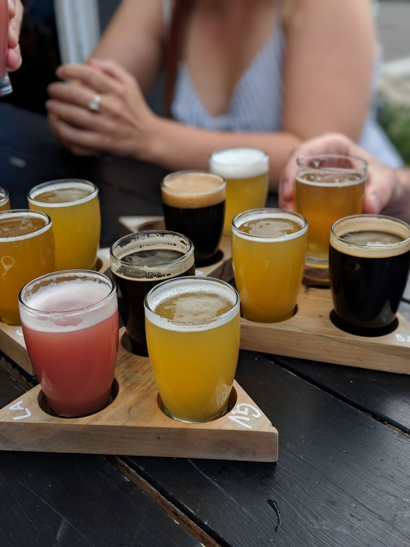 Blood Brothers is one of the best breweries in Toronto, and they offer some of the finest craft beer in Toronto