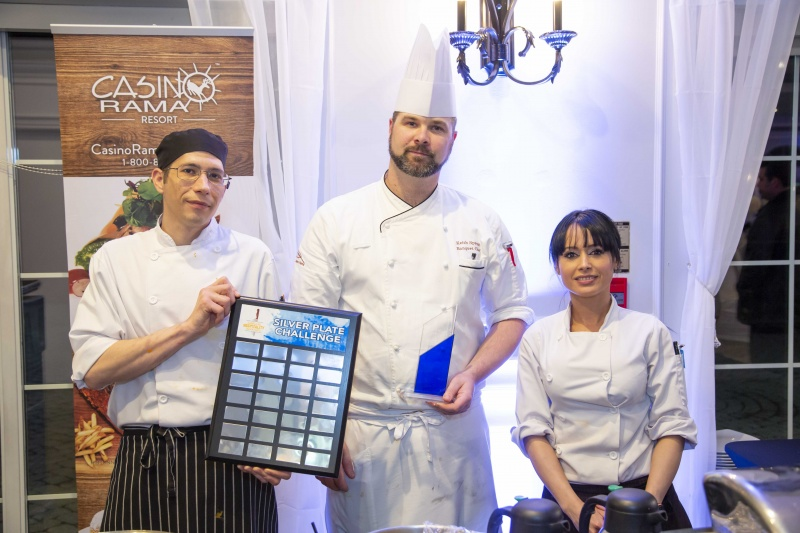 Keith Sprunt of Casino Rama was the winner of the Silver Plate Award at the 2019 ORHMA Awards
