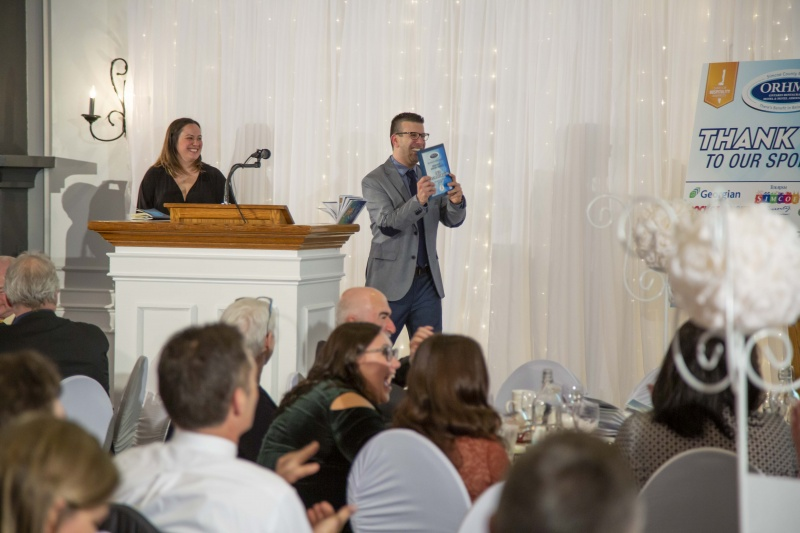 The Boathouse Eatery in Midland, Ontario did very well at the Simcoe County Hospitality Awards Gala