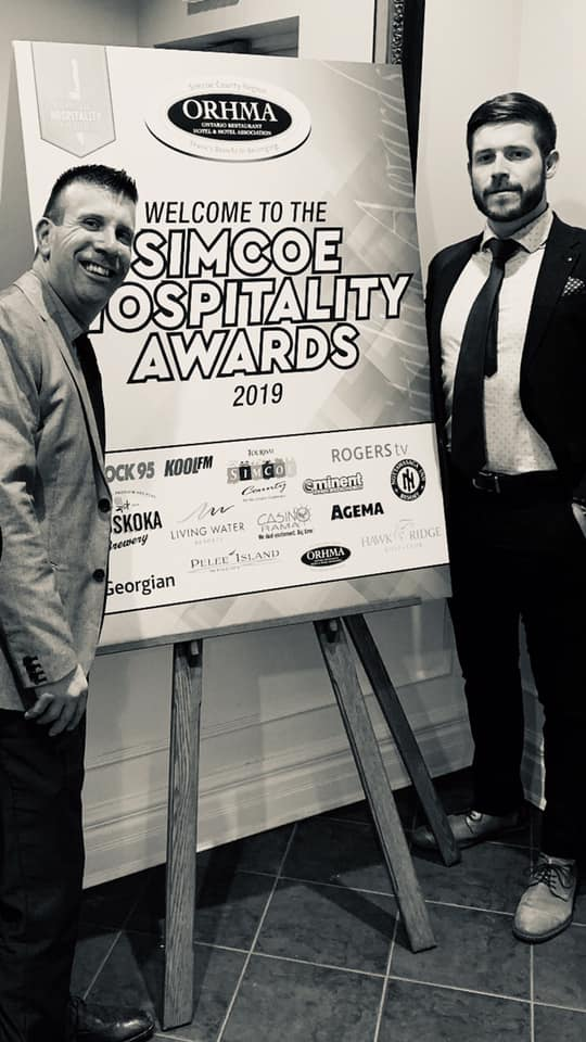 The Boathouse Eatery in Midland, Ontario was a big winner at the Annual Simcoe Hospitality Awards Dinner