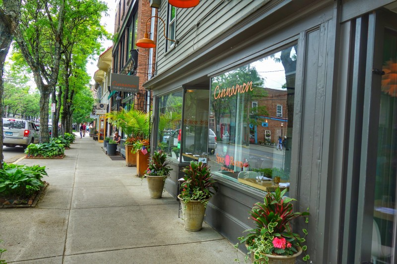 The village of Rhinebeck in New York is adorable!
