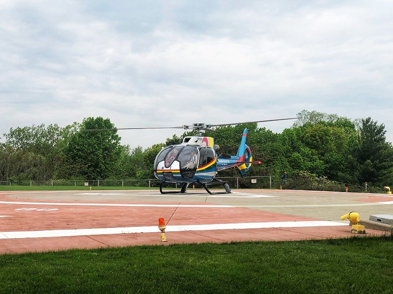 A ride with Niagara Helicopters is a must when you're thinking about what to do in Niagara Falls, Canada for the adventurous.